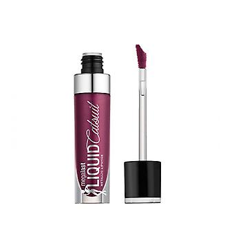 Natte n wilde MegaLast vloeibare Catsuit metallic Lipstick Acai zo serieus