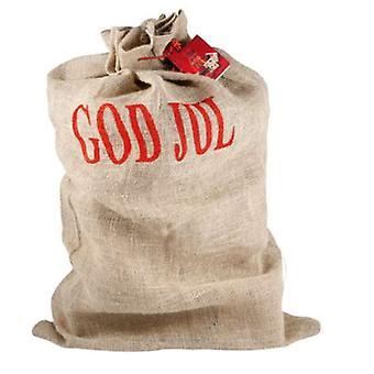 Weihnachts-Geschenk-Tasche Jute Höhe 100cm Santa Sack Sack