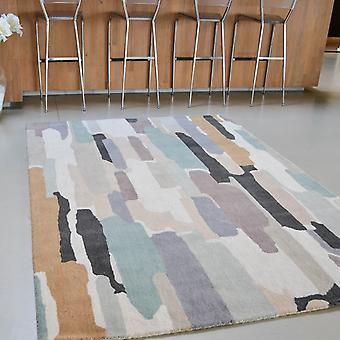 Trattino Rugs 44804 In Sea-Glass By Harlequin