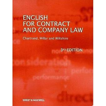 English for Contract and Company Law (3rd Revised edition) by Marcell
