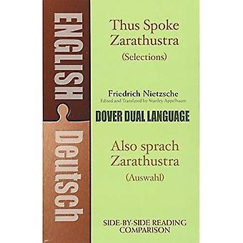 Also Sprach Zarathustra / auch Spra (zweisprachige Bücher)