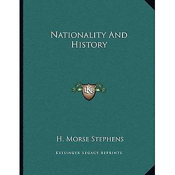 Nationaliteit en geschiedenis