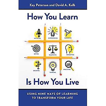 Hur du lär dig är hur du lever