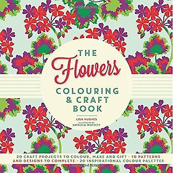 Buchen Sie die Blumen Färbung & Handwerk
