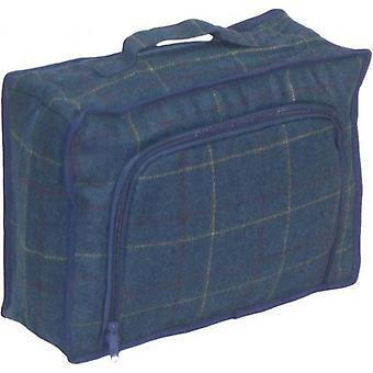 Bolsa nevera de Picnic de Tweed azul