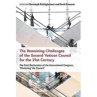 De återstående utmaningarna av det andra Vatikankonciliet för 2000-talet: den slutliga deklarationen av den internationella kongressen, \