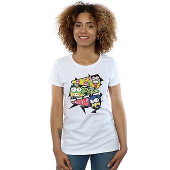 DC Comics naisten Teen Titans mennä Pizza Slice t-paita