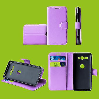 For Samsung Galaxy S10e G970F 5.8 inch Pocket wallet premium purple protection sleeve case cover pouch new accessories