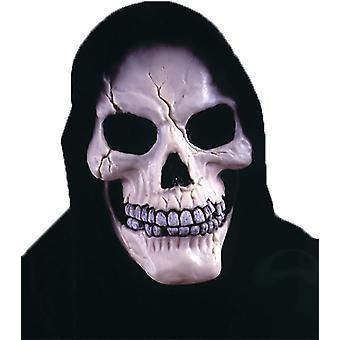 Skalle med svepning Mask för Halloween