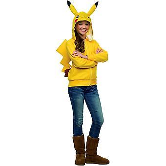Pikachu kapucnis tini