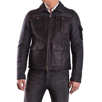 Veste d'outerwear En laine noire De Peuterey Ezbc017028