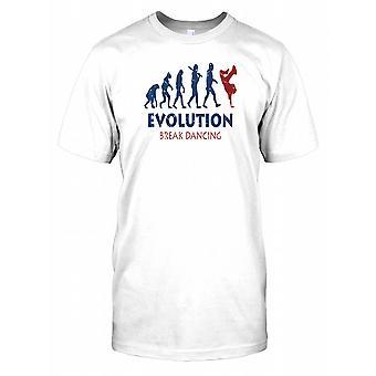 Entwicklung der Breakdance-T-Shirt für Herren