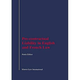 Responsabilità precontrattuale nel diritto inglese e francese da Giliker & Paula