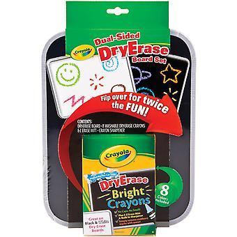 Crayola Dual-Sided Dry-Erase Board Set-