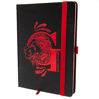 Harry Potter Official Gryffindor Premium Foil Notebook