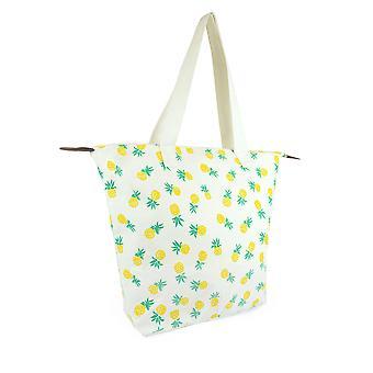 Luna Cove Womens/Ladies Holiday Print Tote And Make Up Bag