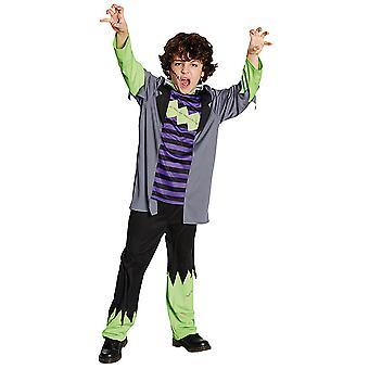 Funky Monster kind kostuum Monster kostuum voor kinderen