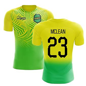 2020-2021 Norwich Home Concept Football Shirt (McLean 23) - Kids
