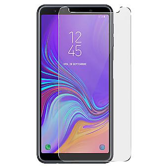 Beeyo Samsung Galaxy A7 2018 Anti-scratch Tempered Glass Film - Transparent