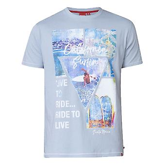 DUKE Duke California Surfin Print T Shirt