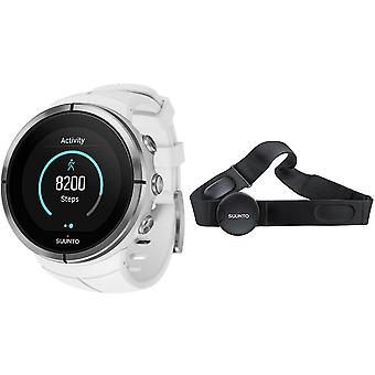 Suunto poitrine blanche Ultra spartiate Heart Rate Monitor montre unisexe SS022660000