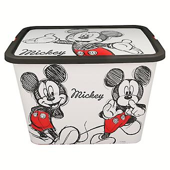 Jouets Mickey Mouse entreposer le contenant 23 litres