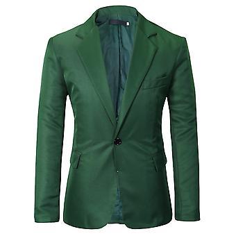 Allthemen Herren Anzug Jacke Slim Fit Business Casual Blazer