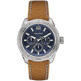 Nautica seattle Quartz Analog Man Watch with NAPSTL001 Cowskin Bracelet