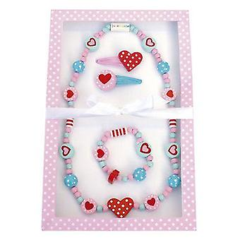 Jabadabado Jewelryset Heart (Babies and Children , Toys , Home And Professions)