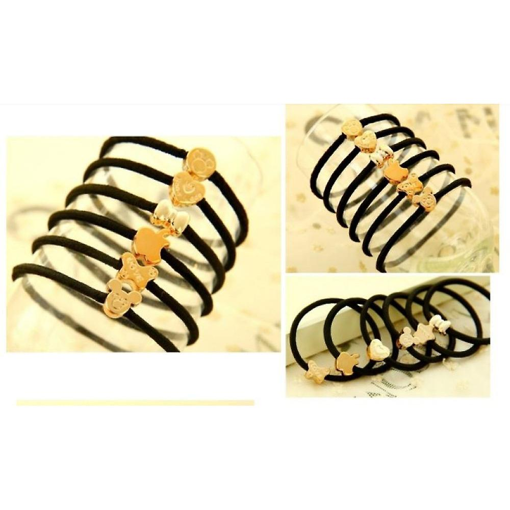 Hair bands with different shapes (10-Pack)