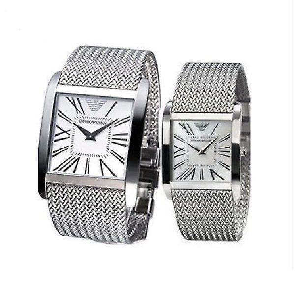 Emporio Armani Ar2014 And Ar2015 - His And Hers Armani Watches