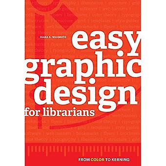 Conception graphique simple pour les bibliothécaires: de couleur pour le crénage