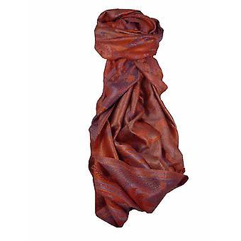 Mens Jamawar Premium Silk Scarf Pattern 8829 by Pashmina & Silk