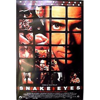 Snake Eyes (Double Sided Regular) (1998) Poster originale del cinema