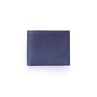 Ted Baker Mens Farthin Waxed Suede Bifold Wallet