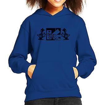 Krazy Kat Hats Off Kid's Hooded Sweatshirt