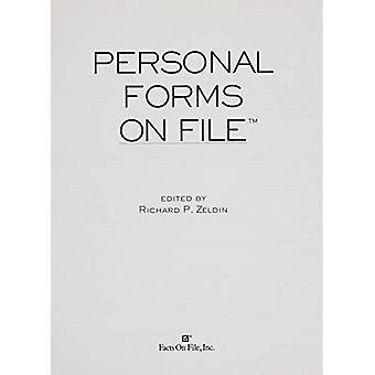 Personliga former på fil: mer än 110 oumbärlig former för att organisera personliga rekord