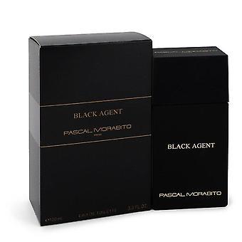 Black agent eau de toilette spray by pascal morabito 547845 100 ml