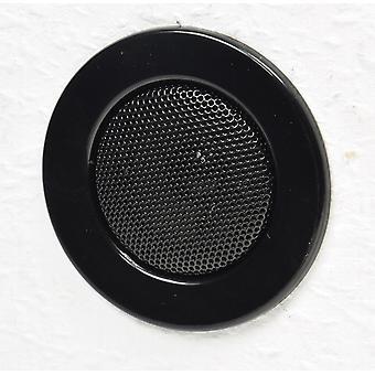 Plafond - montage installation de haut-parleur «Mini» halogène-regard Ø 8 cm 6 cm noir