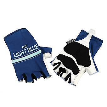 Light Blue Sport Nuovo Track Mitts Gloves Road