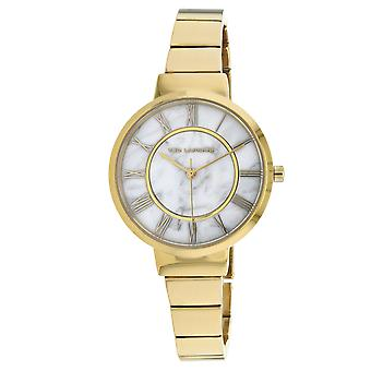 Ted Lapidus Women's Classic Marble white Dial Watch - A0714PARX