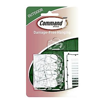 Command Outdoor Light Clips (Pack Of 16)