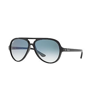 Ray-Ban Cats 5000 RB4125 601/3F svart/blå gradient solglasögon