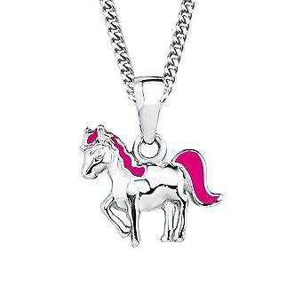 Prinzessin Lillifee Kinder Kids Halskette Silber Pferd-Anhänger 2018177