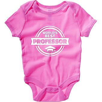 Body neonato rosa raspberry dec0216 miglior professore del mondo