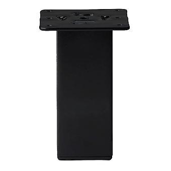 Mustat neliöt huone kalut jalka 15 cm