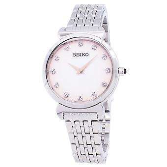 Reloj Seiko Quartz SFQ803 SFQ803P1 SFQ803P Diamond Accents Women's