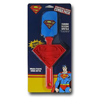 Superman Spatula and Cookie Cutter Pack