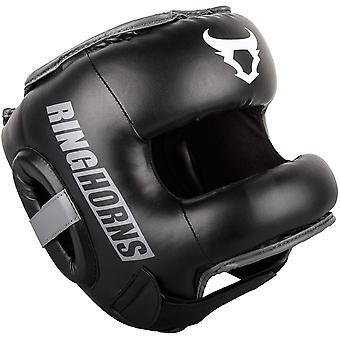Ringhorns Nitro Head Guard  Black
