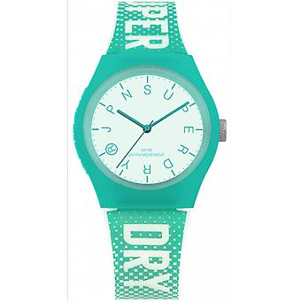 Superdry SYL224N - Urban Festival Glow Silicone Turquoise girl watch